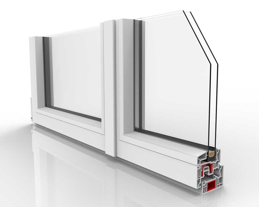 lato interno finestra in pvc