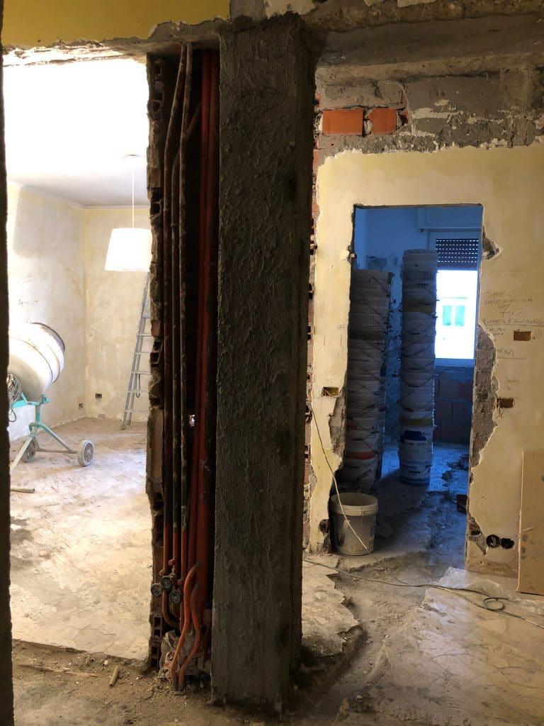 Ristrutturare casa le 7 fasi in cantiere demolizioni