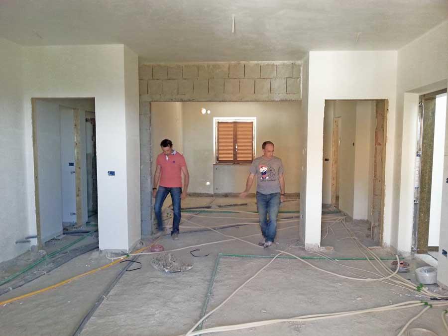 Ristrutturare casa le 7 fasi in cantiere tubazioni